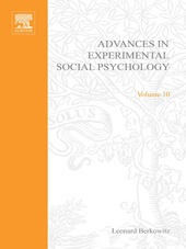 ADV EXPERIMENTAL SOCIAL PSYCHOLOGY,V 10