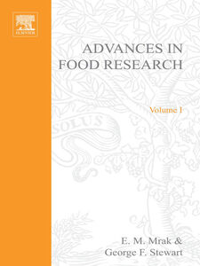 Ebook in inglese ADVANCES IN FOOD RESEARCH VOLUME 1 -, -