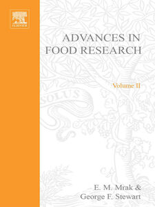 Ebook in inglese ADVANCES IN FOOD RESEARCH VOLUME 2 -, -
