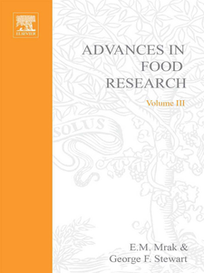 Ebook in inglese ADVANCES IN FOOD RESEARCH VOLUME 3 -, -