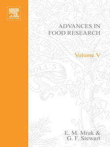 Ebook in inglese ADVANCES IN FOOD RESEARCH VOLUME 5