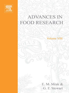Ebook in inglese ADVANCES IN FOOD RESEARCH VOLUME 8 -, -