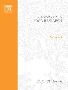 Ebook in inglese ADVANCES IN FOOD RESEARCH VOLUME 9