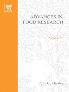 Ebook in inglese ADVANCES IN FOOD REASEARCH V12 -, -