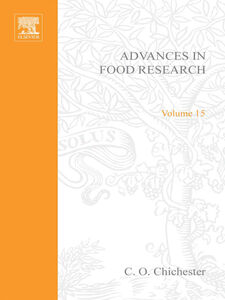 Ebook in inglese ADVANCES IN FOOD RESEARCH V15
