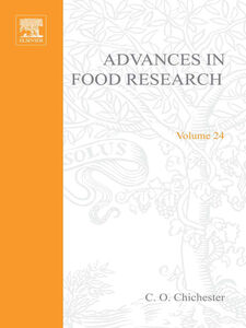 Ebook in inglese ADVANCES IN FOOD RESEARCH VOLUME 24 -, -