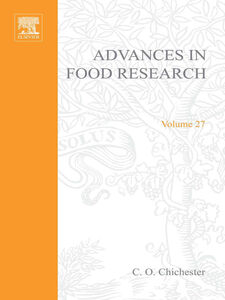 Foto Cover di ADVANCES IN FOOD RESEARCH VOLUME 27, Ebook inglese di  edito da Elsevier Science