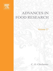 Ebook in inglese ADVANCES IN FOOD RESEARCH VOLUME 27 -, -