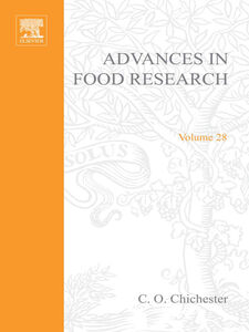 Foto Cover di ADVANCES IN FOOD RESEARCH VOLUME 28, Ebook inglese di  edito da Elsevier Science