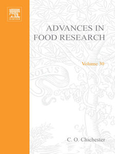 Ebook in inglese ADVANCES IN FOOD RESEARCH VOLUME 30 -, -
