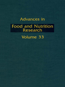 Ebook in inglese ADVANCS IN FOOD & NUTRITION RESEARCH,V33 -, -