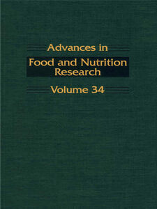 Ebook in inglese ADVANCS IN FOOD & NUTRITION RESEARCH,V34