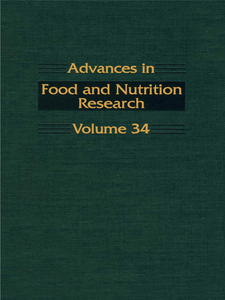 Ebook in inglese ADVANCS IN FOOD & NUTRITION RESEARCH,V34 -, -