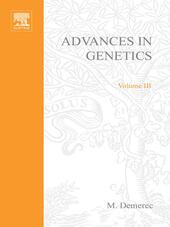 ADVANCES IN GENETICS VOLUME 3