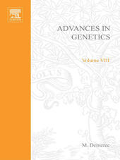 ADVANCES IN GENETICS VOLUME 8
