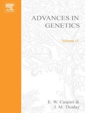 ADVANCES IN GENETICS VOLUME 11