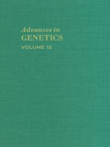 Ebook in inglese ADVANCES IN GENETICS VOLUME 12 -, -