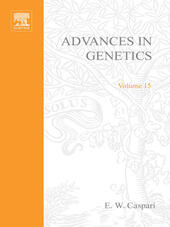 ADVANCES IN GENETICS VOLUME 15