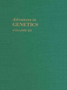 Foto Cover di ADVANCES IN GENETICS VOLUME 23, Ebook inglese di  edito da Elsevier Science