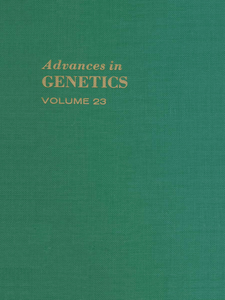 Ebook in inglese ADVANCES IN GENETICS VOLUME 23 -, -