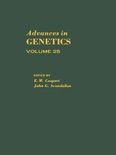 ADVANCES IN GENETICS VOLUME 25