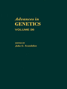 Ebook in inglese ADVANCES IN GENETICS VOLUME 26