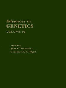 Foto Cover di ADVANCES IN GENETICS VOLUME 30, Ebook inglese di  edito da Elsevier Science