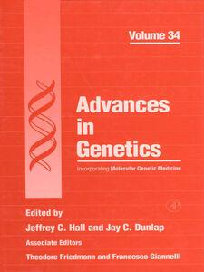 Foto Cover di Advances in Genetics, Ebook inglese di  edito da Elsevier Science