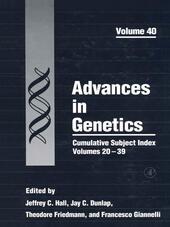Cumulative Subject Index, Volumes 20-39
