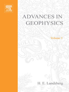 Ebook in inglese ADVANCES IN GEOPHYSICS VOLUME 3
