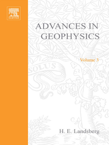 Ebook in inglese ADVANCES IN GEOPHYSICS VOLUME 3 -, -