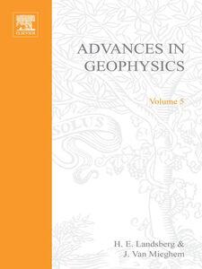 Ebook in inglese ADVANCES IN GEOPHYSICS VOLUME 5 -, -