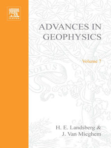 Ebook in inglese ADVANCES IN GEOPHYSICS VOLUME 7