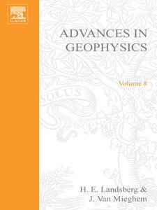 Ebook in inglese ADVANCES IN GEOPHYSICS VOLUME 8