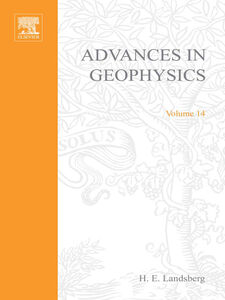 Ebook in inglese ADVANCES IN GEOPHYSICS VOLUME 14
