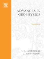 ADVANCES IN GEOPHYSICS VOLUME 16