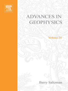 Ebook in inglese ADVANCES IN GEOPHYSICS VOLUME 20