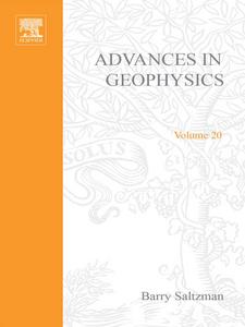 Ebook in inglese ADVANCES IN GEOPHYSICS VOLUME 20 -, -