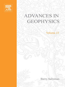 Foto Cover di ADVANCES IN GEOPHYSICS VOLUME 23, Ebook inglese di  edito da Elsevier Science