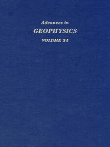 Ebook in inglese ADVANCES IN GEOPHYSICS VOLUME 34