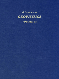 Ebook in inglese ADVANCES IN GEOPHYSICS VOLUME 34 -, -