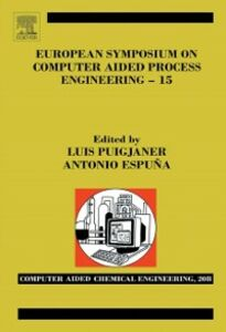 Ebook in inglese EUROSYMPOSIUM COMPUTER AIDED PROCESS ENGINEERING ESPUNA