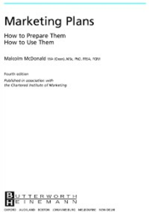 Ebook in inglese Marketing Plans McDonald, Malcolm