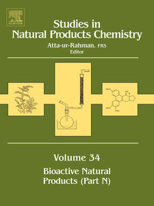 Foto Cover di Studies in Natural Products Chemistry, Ebook inglese di Atta-ur-Rahman, edito da Elsevier Science