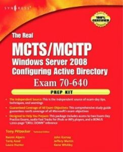 Ebook in inglese Real MCTS/MCITP Exam 70-640 Prep Kit Piltzecker, Anthony