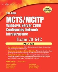 Ebook in inglese Real MCTS/MCITP Exam 70-642 Prep Kit Posey, Brien