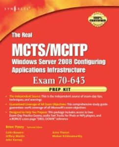Ebook in inglese Real MCTS/MCITP Exam 70-643 Prep Kit Bowern, Colin , Martin, Jeffery A. , Posey, Brien , Theron, Arno