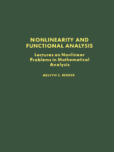 Ebook in inglese Nonlinearity & Functional Analysis Berger, Melvyn S.