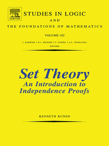 Ebook in inglese Set Theory an Introduction to Independence Proofs Kunen, K.