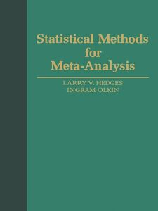 Foto Cover di Statistical Methods for Meta-Analysis, Ebook inglese di Larry V. Hedges,Ingram Olkin, edito da Elsevier Science